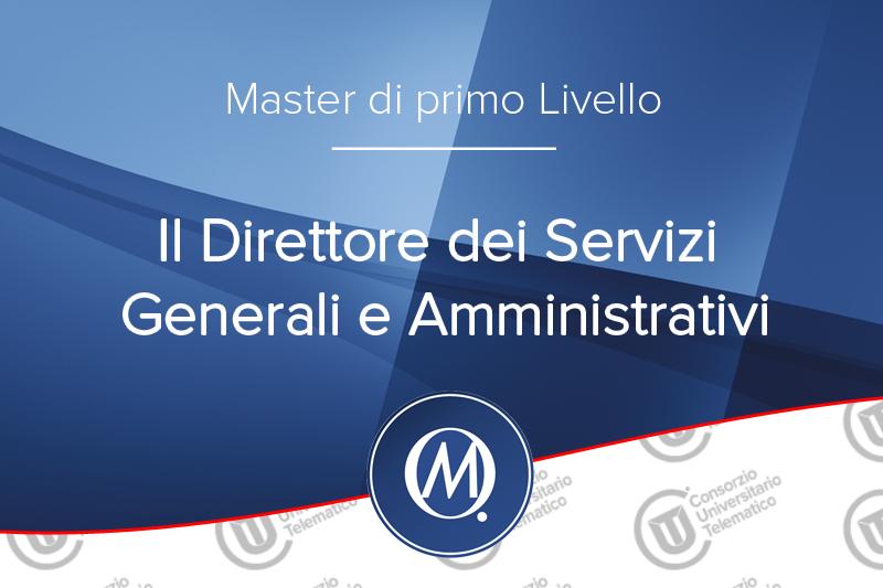 Il Direttore dei Servizi Generali e Amministrativi