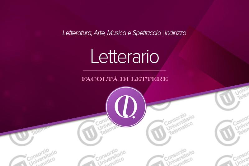 Letteratura Arte Musica e Spettacolo - Letterario
