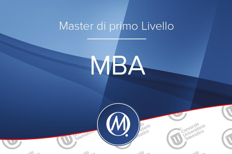Master MBA di Primo Livello