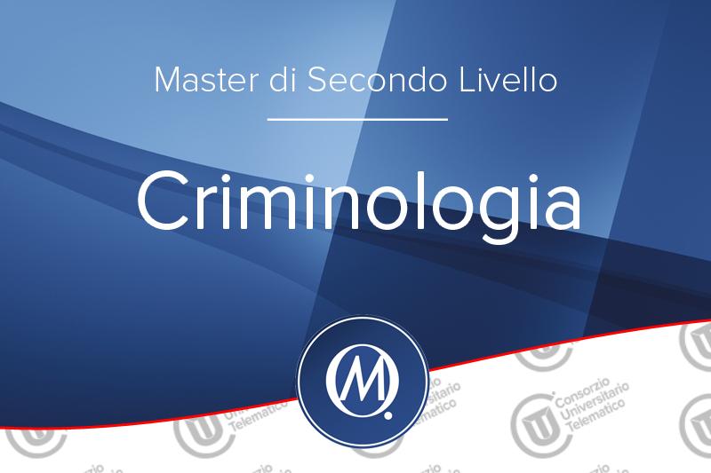 Master in Criminologia di secondo Livello