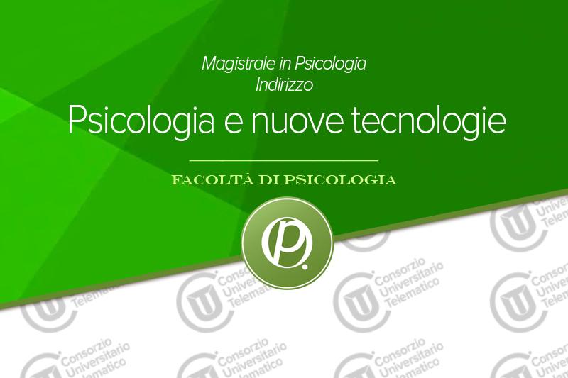 Psicologia e nuove tecnologie